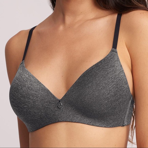 MONTELLE Wire-Free T-Shirt Bra - Cloud Mix